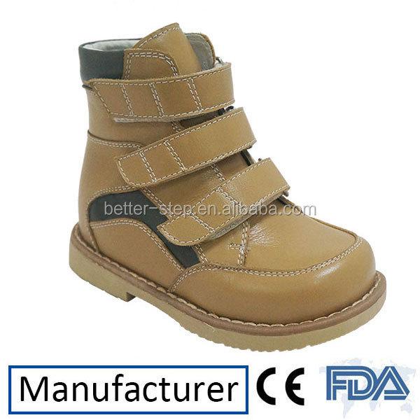 Winter Leather Medical Kids Orthopedic