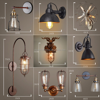 antique tiffany lamps for sale industrial loft lighting led metal wall sconce with acrylic lampshade for