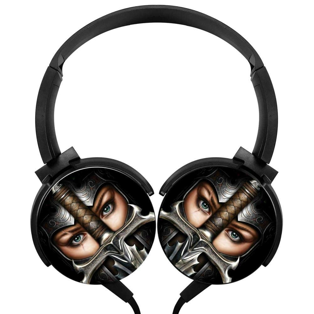 Xerjij Girl Wallpapers Wired Stereo Headset fashion Bass Headphones for Computers Mobile Devices