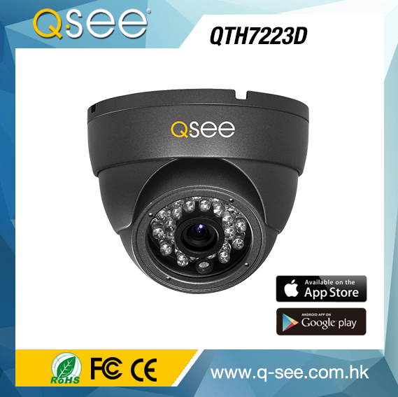 Q-SEE Factory Shenzhen CCTV IP66 Waterproof HD Network Dome Camera CCTV System