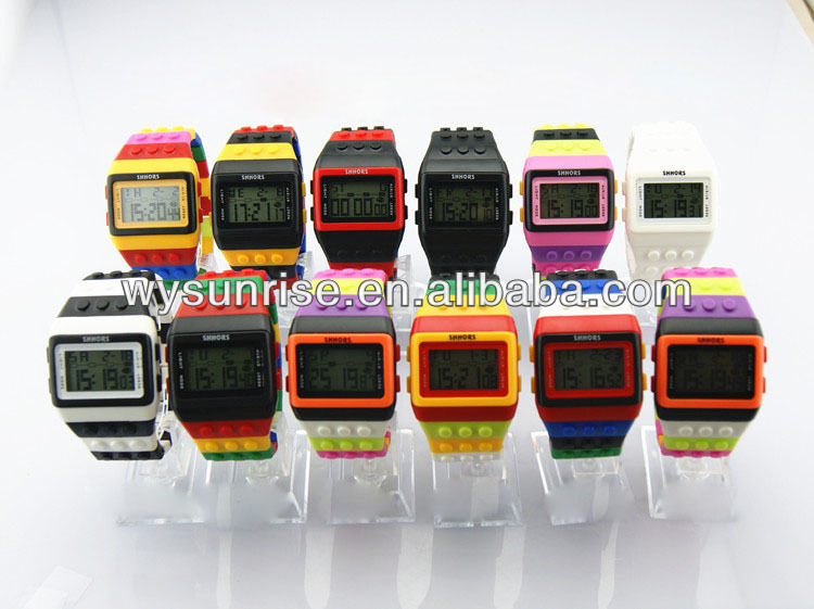latest design time force silicon sports watch made in china