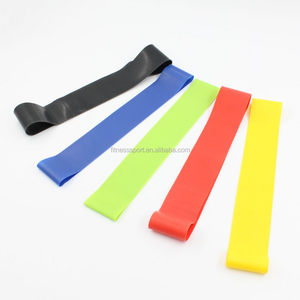 exercise gym yoga fitness loop resistance bands set stretch exercise