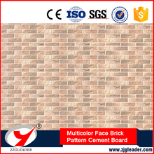 NC Precision Coating Weathering Series Multicolor Face Brick Pattern exterior wall board