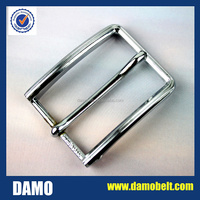 3.5cm shiny silver buckle for leather belt