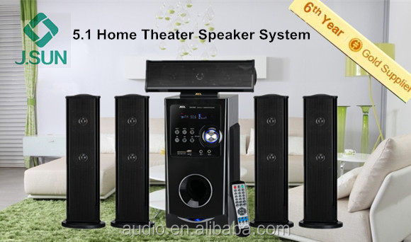 5.1 Dynamic Vfd Display Surround Sound Master Speaker