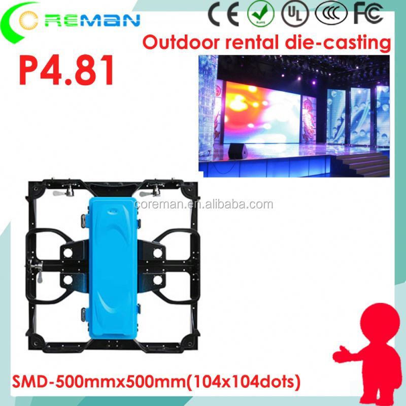 P4.8 P3.91 outdoor led <strong>screen</strong> 4m x 3m , high quality korea led display <strong>screen</strong> , mobile stage led <strong>screen</strong> outdoor p4.8