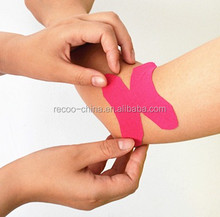 Precut Sports And Kinesiology Tape Sport Strapping Tape With Different Colors