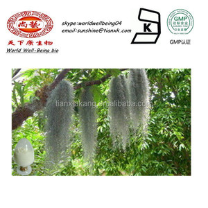 Tree's dandruff Extract 98%HPLC Usnic Acid Powder /tree moss plant extract/ old man's beard Powder extract