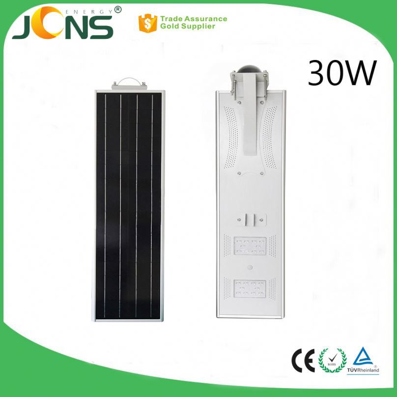 12v solar powered outdoor <strong>energy</strong> 30w motion sensor LED street lights