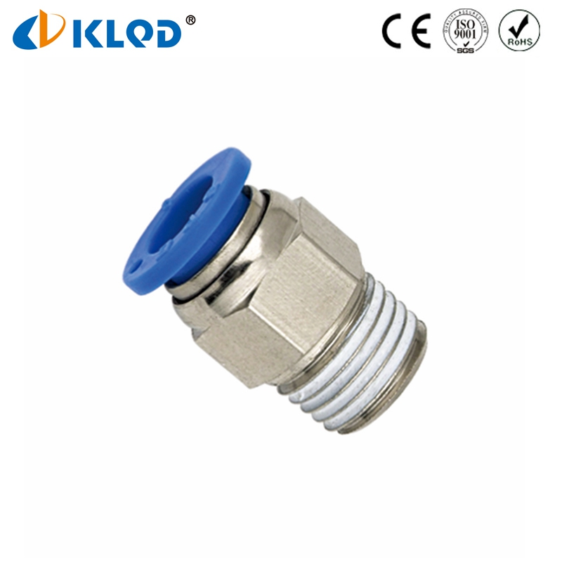 Hot Type Pneumatic Fitting BSPT Thread Straight Type 6mm <strong>Tube</strong> 1/4 Thread PC06-02