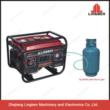 lingben 3kva honda gas and biogas generator price