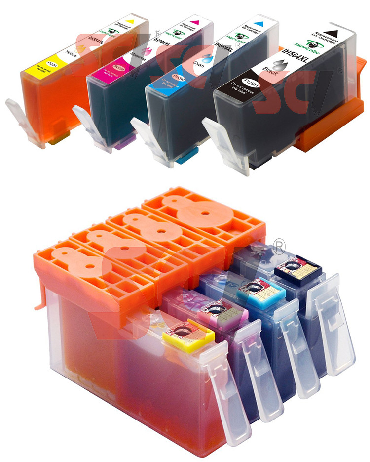 Supricolor New compatible ink cartridge 564XL For hp Photosmart B8550/ C5380 /C6380/C5460/ D7560