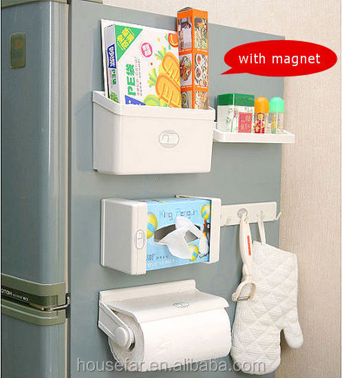 plastic kitchen roll paper holder magnetic paper towel holder