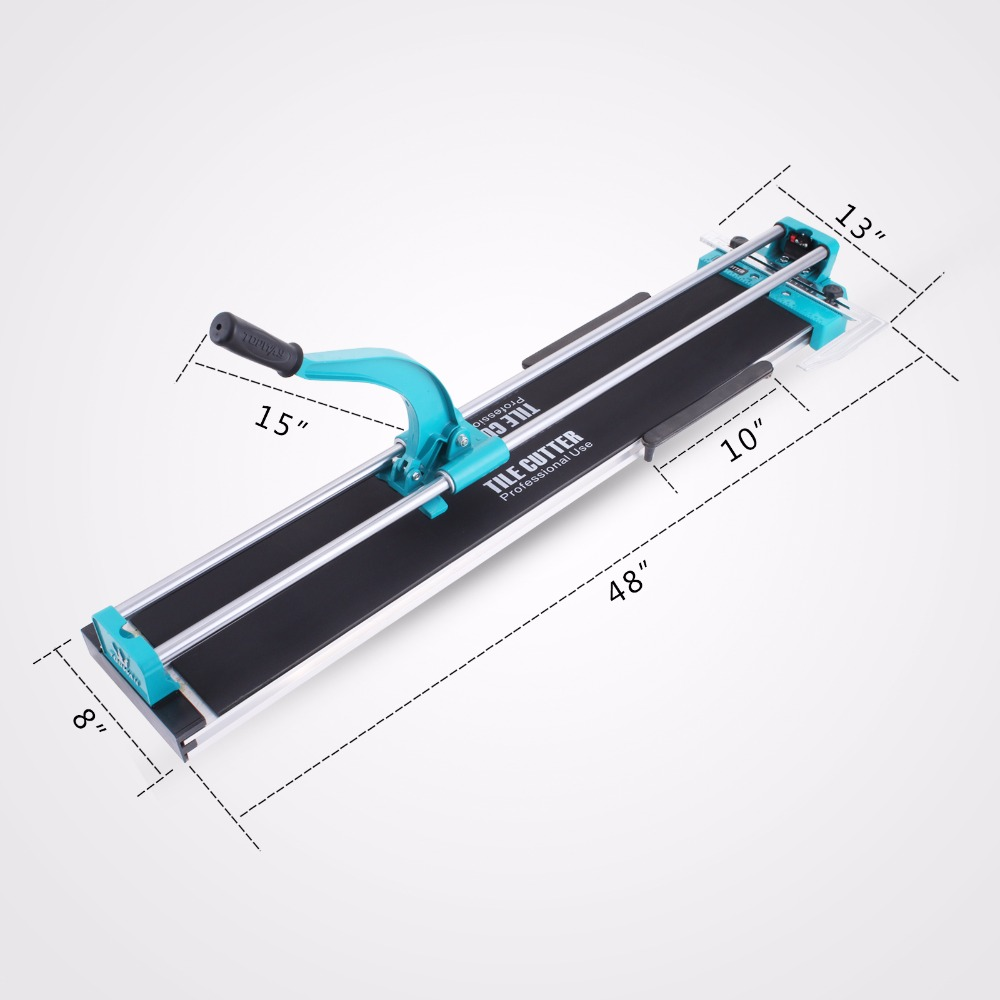 "40"" Inch 1000mm Manual Tile Cutter Hand <strong>Tool</strong> 6-15mm(1/5- 0.6"" )Thickness Laser Guide Heavy Duty"