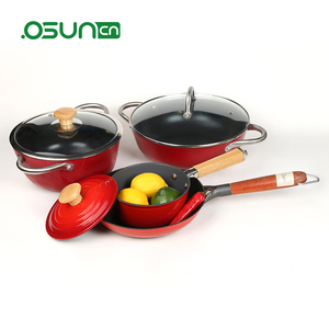 double handle cookware set cook at home cookware and ceramic cookware 2 pcs