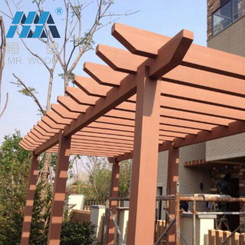 Pergola Dach odm pergola uv beständigkeit kunststoff pergola dach für terrasse