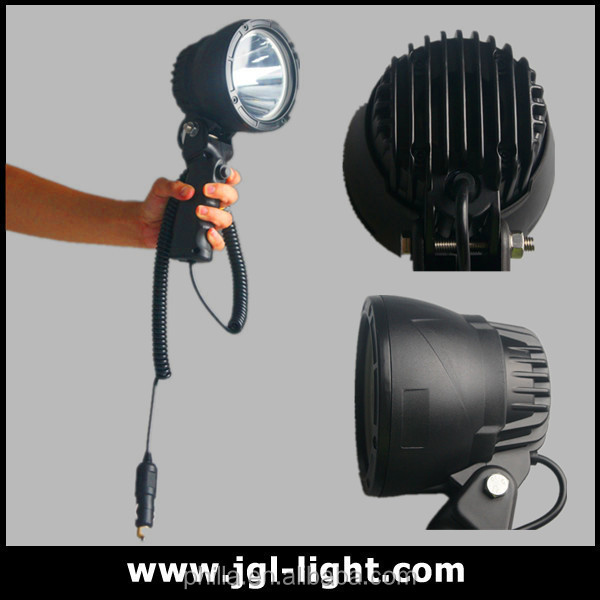 Luminous 25w Led Handheld Searchlight Rechargeable