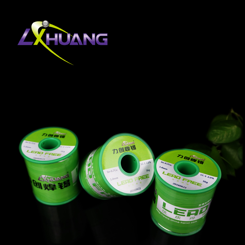 Free sample mechinel welding materials sn99.3cu0.7 lead free solder soldering wire