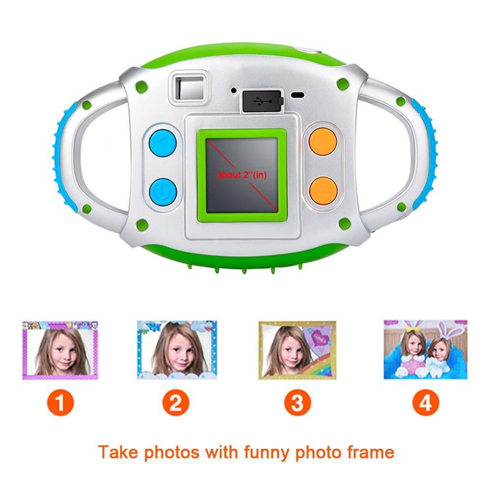 Kids Camera Elektronische Camera voor Kinderen Kinderen Creatieve Digitale Camera 5Mp 1.44 inch TFT Display Video-opname