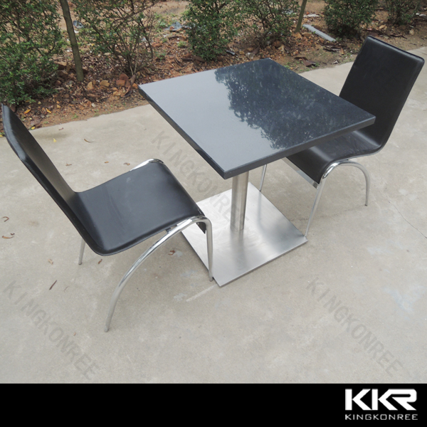 KKR quartz stone table top coffe table cafe table top