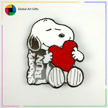 custom enamel anime snoopy pin and badges for christmas gifts - Snoopy Christmas Gifts