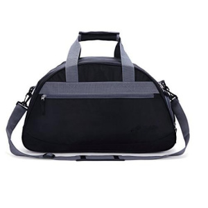 "20"" Sports Travel Duffel Bag with Shoes Compartment for Women,Men"