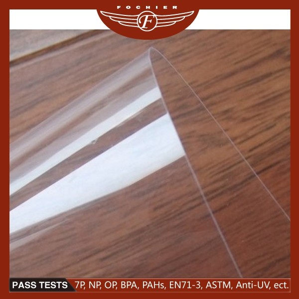 1mm Clear Transparent Inkjet Printing Plastic Rigid Pvc