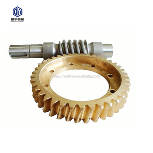Brass Worm Gear and Worm Shaft for Singal Reduction Gear