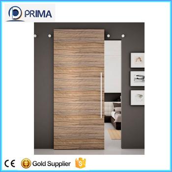 Solid Wood Top Hanging Sliding Door System