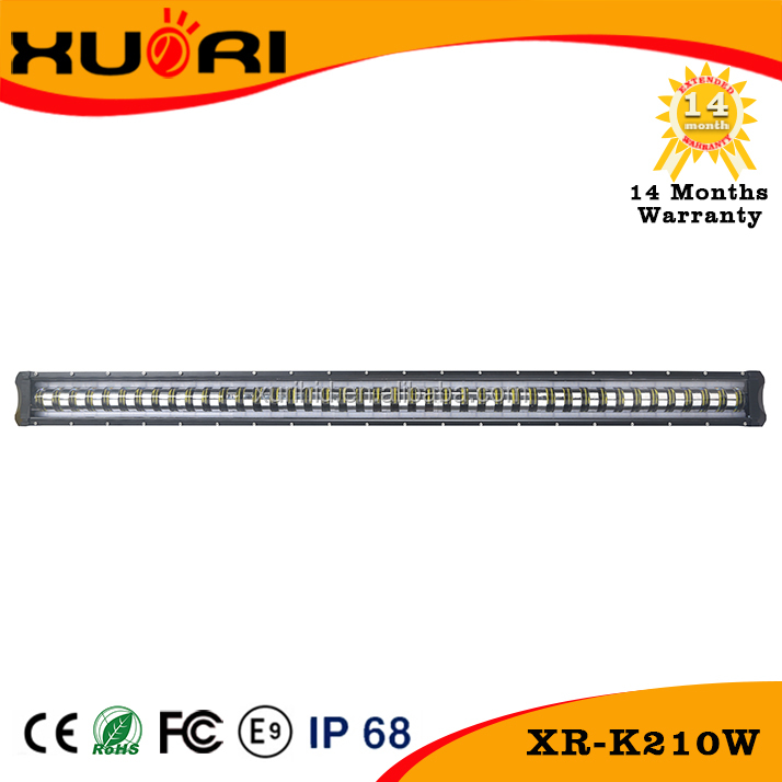 Waterproof New model led light bar Spot&Flood Combo Driving Lamp Aluminum Alloy 210w Led Light Bar 45.5inch with CE Emark ROSH