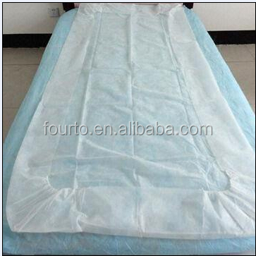 Professional Factory! Disposable Bed Sheet Cover For Hospital/spa/hotel/ Hospital Rubber