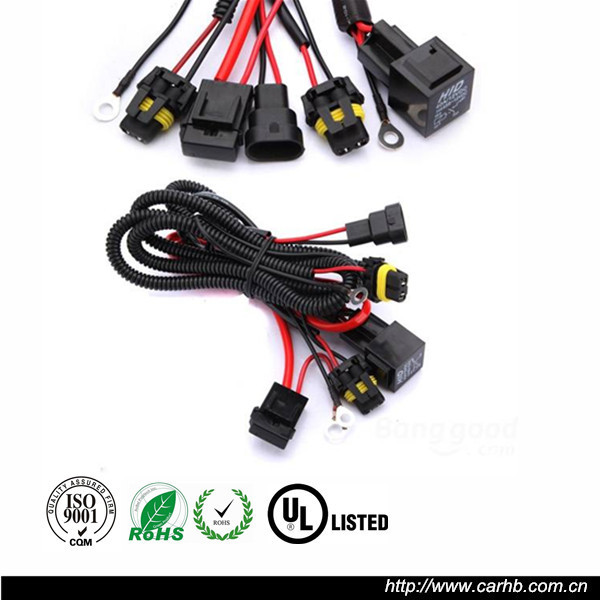 Auto Lighting System 12v 35w Wiring Harness Controller Hid Wire Harness on