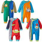 Alibaba China Free Anime Baby Clothes Samples About Long sleeve Happy Baby Clothing With Snap