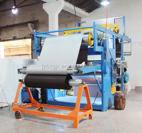 Twin Screw Extruder Three Roller Calender Plastic Sheet Production Machine