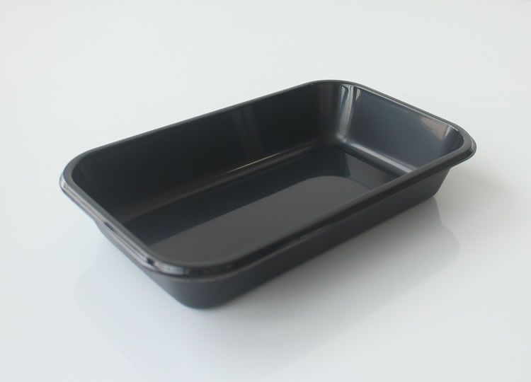 White Black Hot Meal Disposable Frozen Ovenable Airline