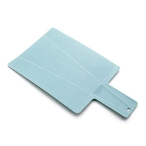 Shovel shape fruit vegetable chopping board fold bending plastic cutting board