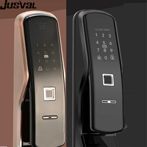 Hot sale Tuya App Free keylock digital master key bluetooth electronic glass cylinder electricdoor lock sell to Thailand