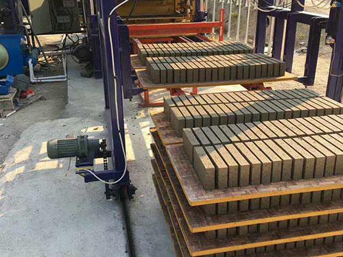 pallet for building concrete block making machine