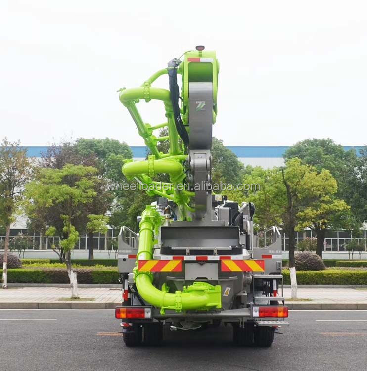 Zoomlion 63M Truck Mounted Concrete Pump Price 63X-6RZ