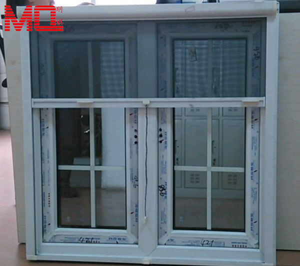 soundproof grille mosquito net window screen frame with roll up shutter