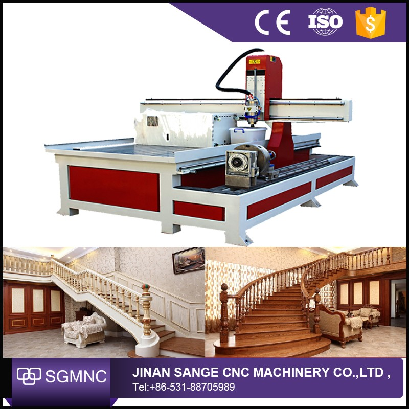 Low Cost 4 Axis Rotary Cnc Milling Machine Wood Carving Cnc Router Engraver Machine For