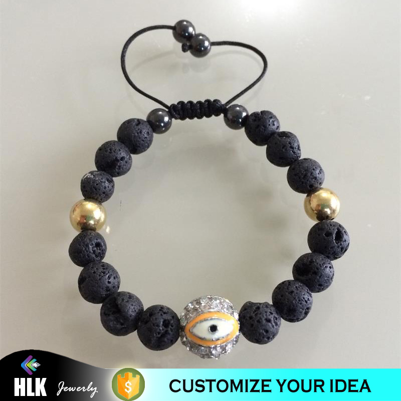 original design Good luck beads bracelet with evil eye, turkish evil eye good luck China wholesale jewelry