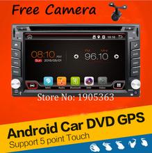 In Dash Android 4.2 2-CPU Double 2 Din Car radio GPS Navi DVD Player Stereo Headunit Video BT Car PC CD WiFi 3G car parking