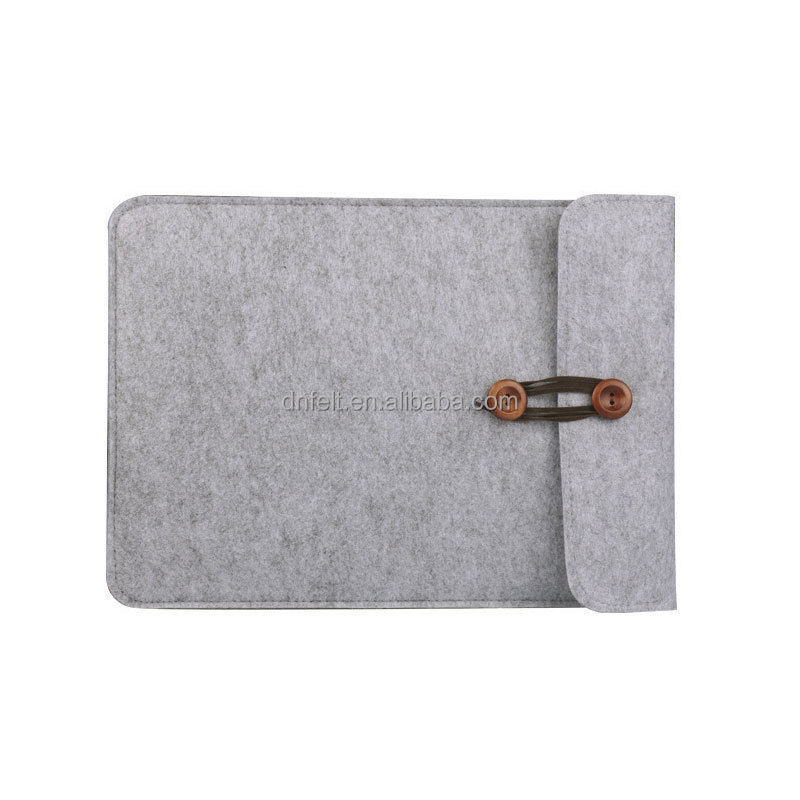 Factory price multifunctional felt tablet laptop sleeve for macbook