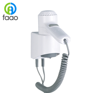 FAAO wall mounted new arrival hotel standing hair dryer
