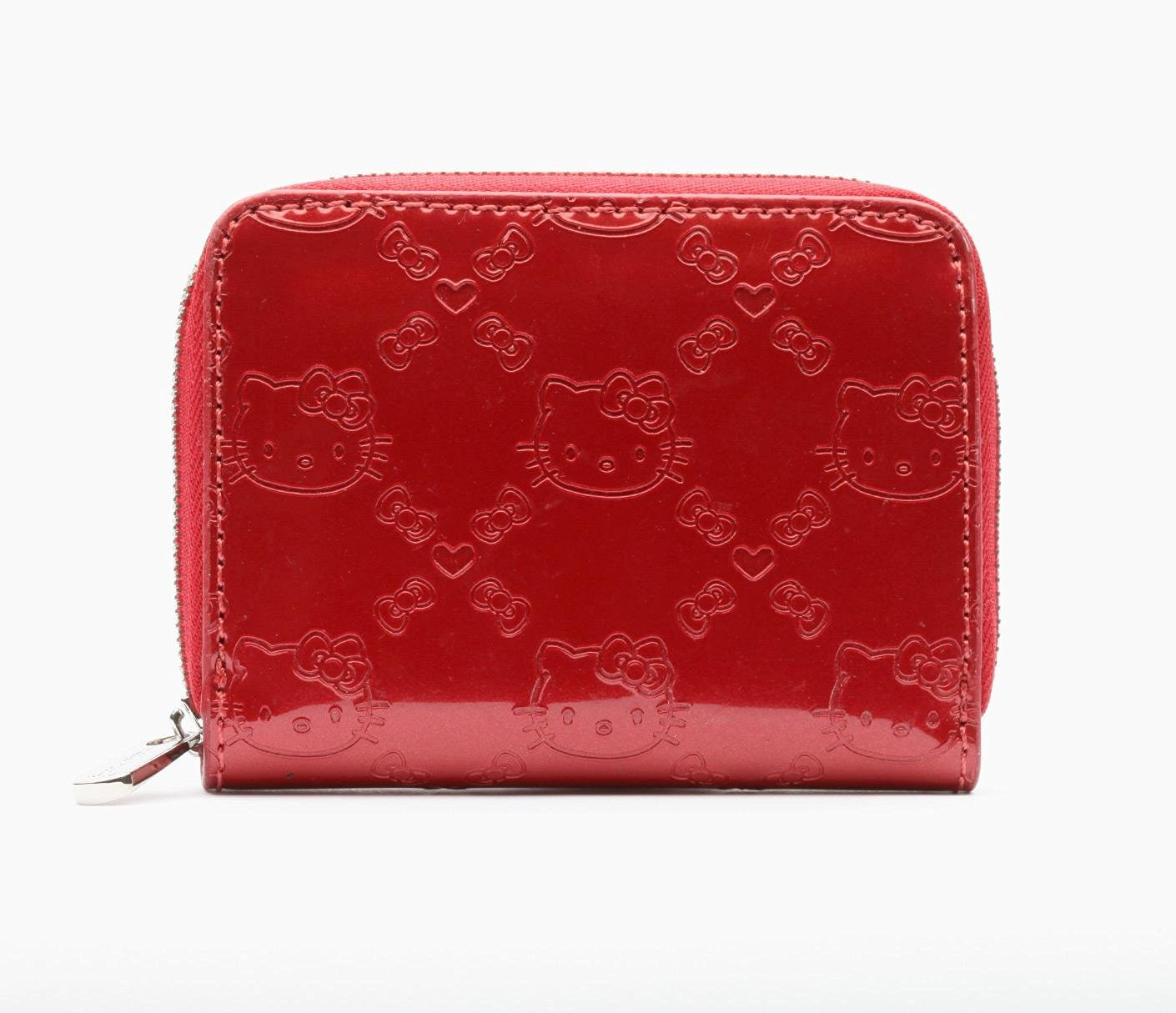 Buy Hello Kitty Small Shiny RED Embossed Wallet in Cheap Price on ... 0c88afce117f2