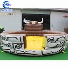 Inflatable bull riding machine red bull vending machine for sale