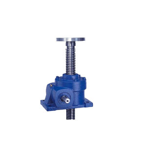 China manual worm gear screw jack lifting
