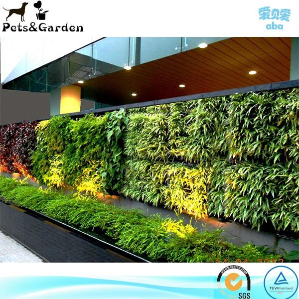 sistemas de jardn vertical pared verde mdulos macetas y jardineras verticales