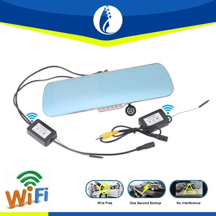 5inch <strong>LCD</strong> 1080P HD Android 4.1 system wireless wifi car recorder rearview mirror